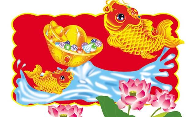 吉利的,招财的,福寿的中华传统好寓意图片.图片