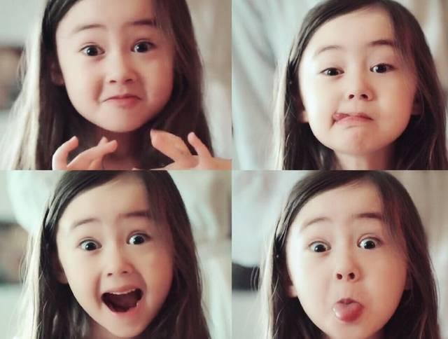 先是演吴亦凡的女儿,现在又演李冰冰的女儿,这混血童星让人羡慕