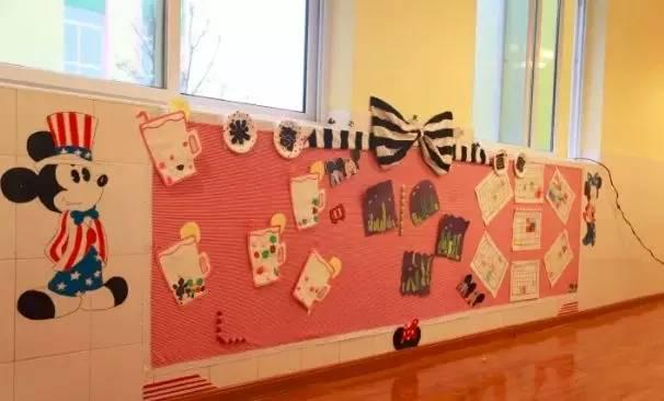 """幼儿园环创不知道怎么做,看别人如何巧用""""米奇""""环创-幼儿园环创设计"""
