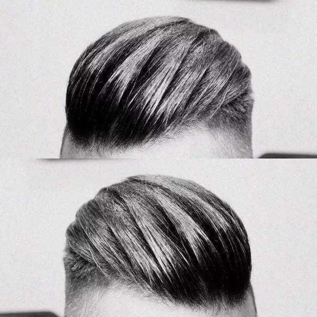 """发型欣赏——流行的""""纹理奔头""""男士发型图片"""