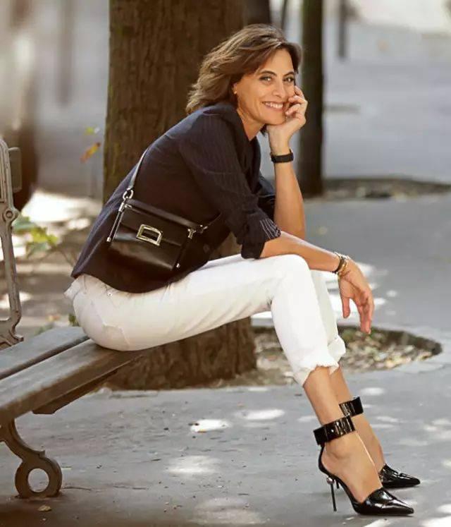 法国女人优雅穿搭的6个秘密,值得每位中老年女性学习