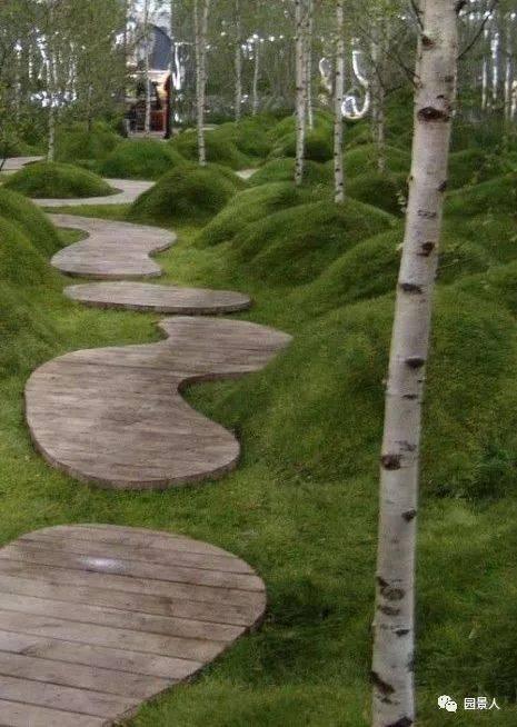 冒口微地形堆坡的艺术铸钢景观v冒口图片