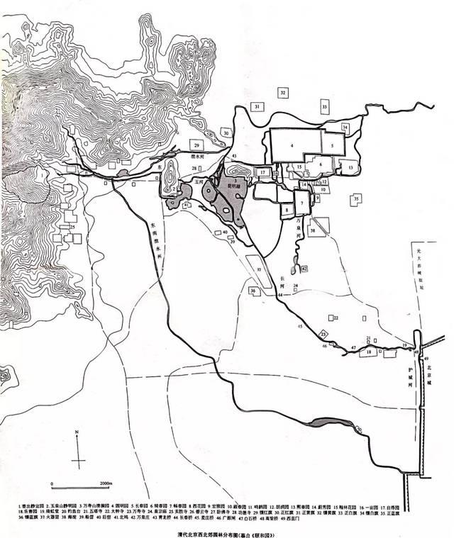 2-颐和园平面图