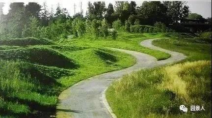 艺术微景观堆坡的地形茶文化景观设计理念图片