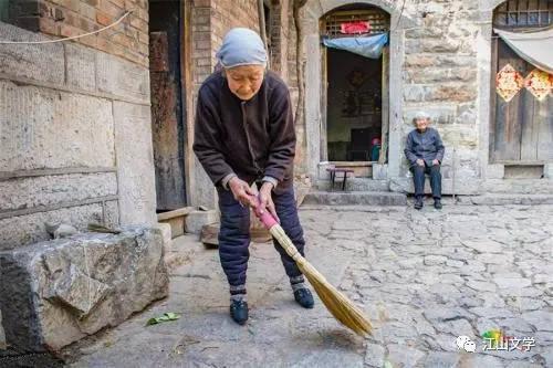 江山散文 爷爷奶奶的故事我想去反思课后看看图片
