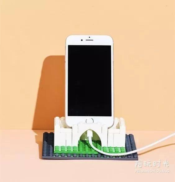 乐高手机支架图纸