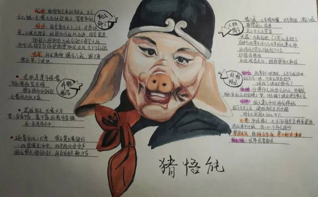 13岁初二女生手绘四大名著,人民日报也为她点赞
