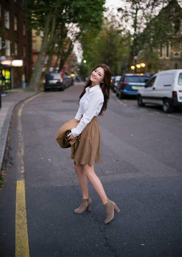 梨形身材秋季穿衣搭配,显瘦小技巧get起来图片
