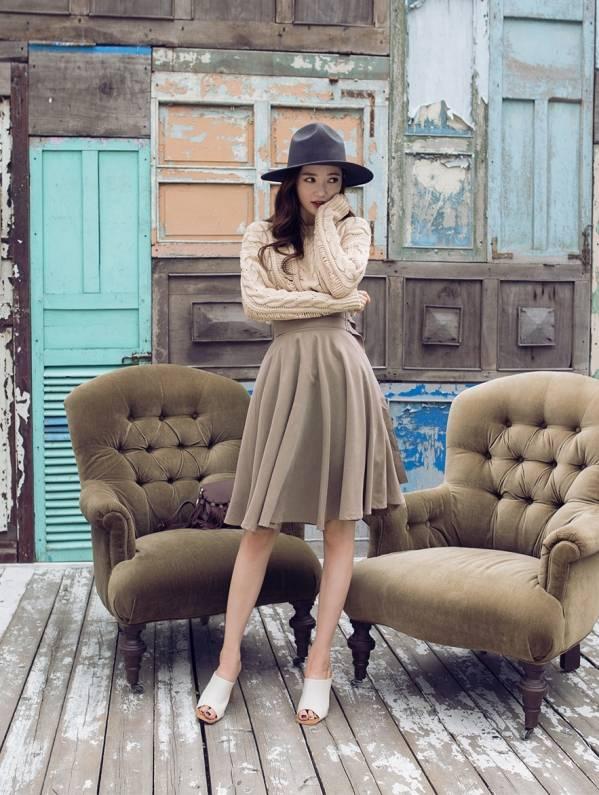 梨形身材秋季穿衣搭配显瘦小技巧get起来图片
