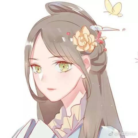 【栗栗苏の完美小姐进化班】古装无水印闺蜜头像,欢迎