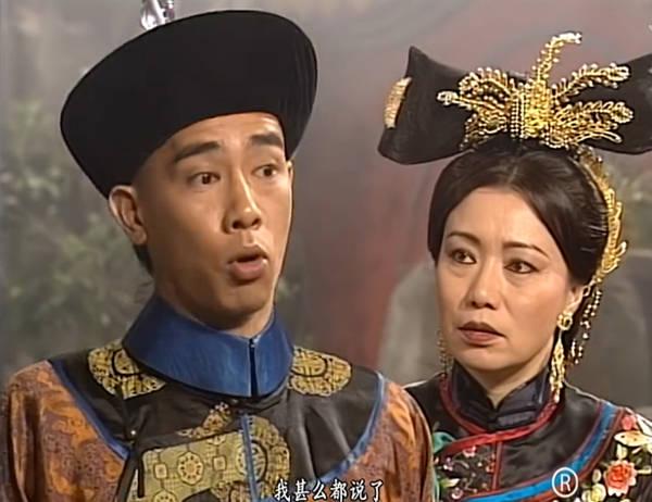 陈小春版《鹿鼎记》中的韦小宝和程可为饰演的太后