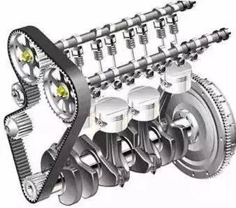 齿轮飞带轮正时由曲轴,曲轴,曲轴轮组与主要飞轮等组成,安装在气缸体宝骏510加备胎图片