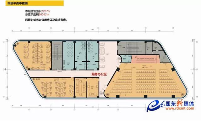 如东新汽车站开建近3个月,进展如何?(附海量高清设计图)