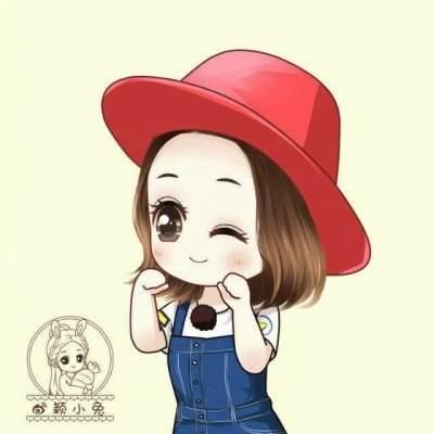 超可爱赵丽颖卡通动漫头像推荐
