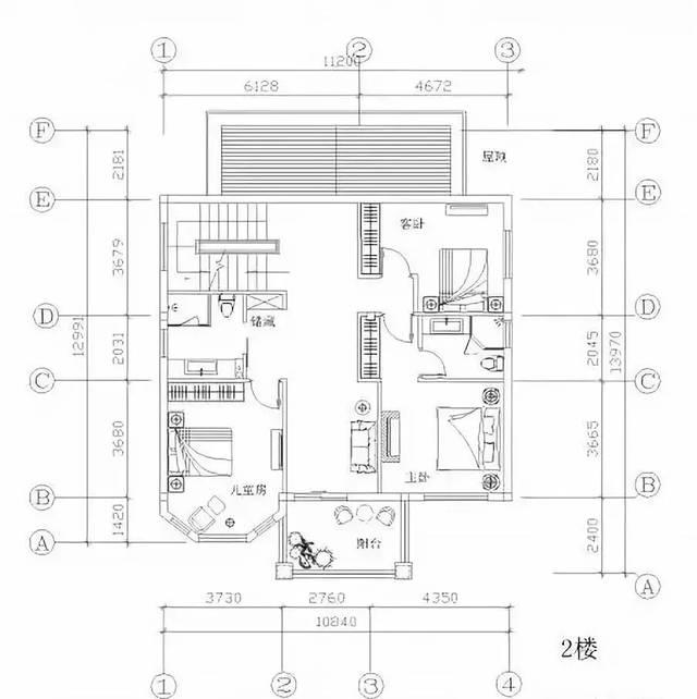 130平方地基设计图