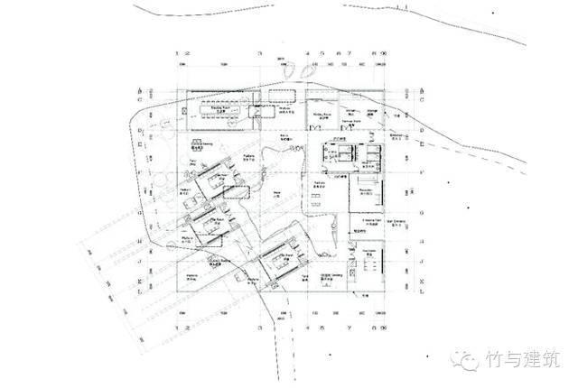 竹院茶室平面图