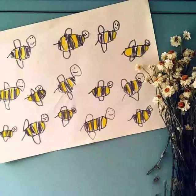 老妈让你在吃早餐时也能看到,小蜜蜂飞呀飞图片