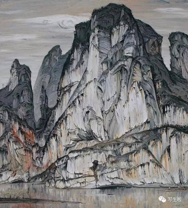 【写生啦】范迪安:写意油画的探索(附2016—18年写意油画学派名家作品图片