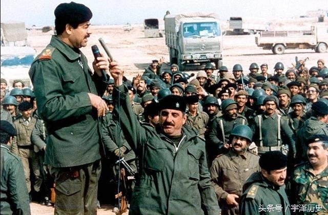 海湾战争主要战斗包括长达42天的空袭以及在伊拉克,科威特,沙特边境