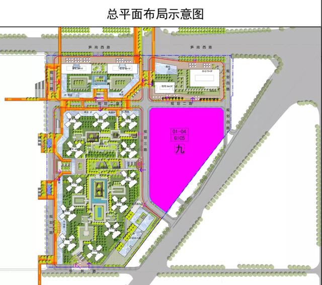 深圳黄木岗未来规划图