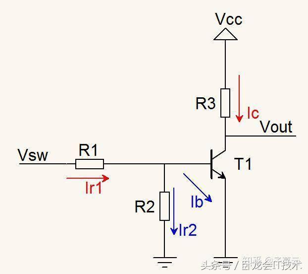 三极管开关电路的工作状态分析,快速判断,以及计算方法!