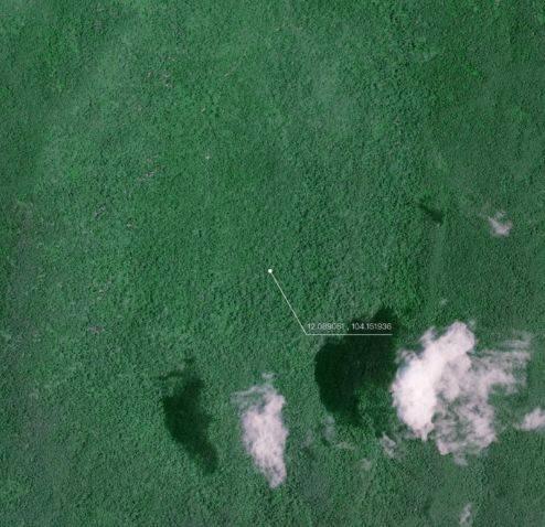 【疑问】马航370在柬埔寨密林?中国一公司调十颗卫星去拍摄图片