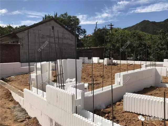 北京农村30万eps模块盖别墅,1300一平,红砖消失后建房图片