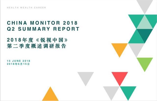 《美世锐视中国》2018Q2报告解读:目前经济现