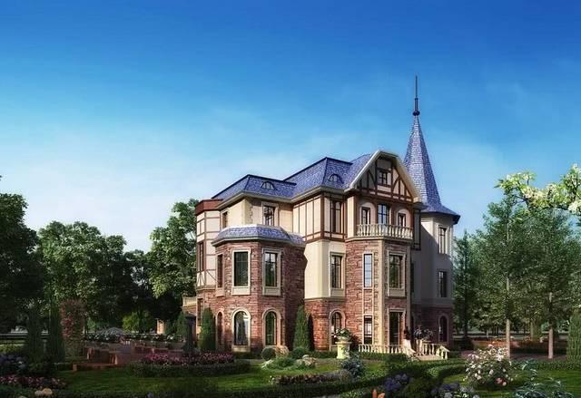 现代风格皇家别墅别墅美图片