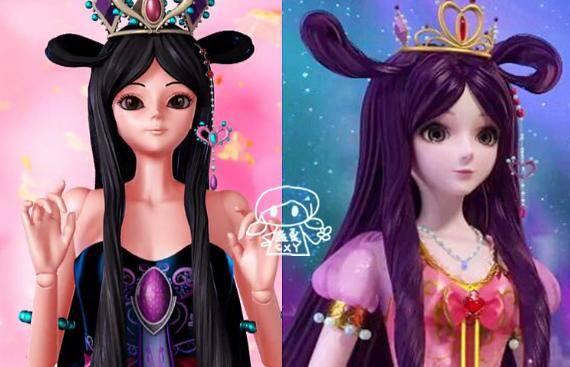 旧版精灵梦叶罗丽四位公主的改版,灵公主换新妆,金莲公主最罕见图片