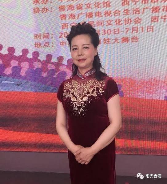 青海廣播電視臺主持人圖片