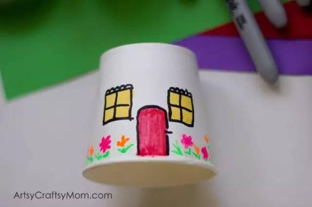 幼儿园纸杯创意手工制作,不可错过!  巧手教育