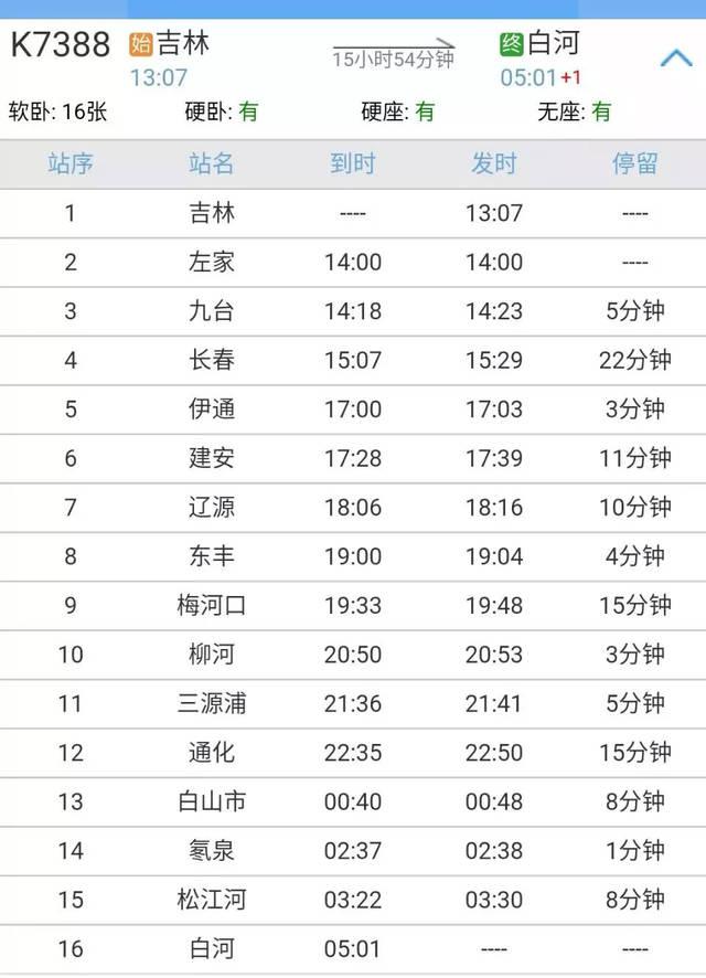 吉林�9k�9�&�`�yn���9��_9月19日,长春,吉林,辽源,伊通,东丰的居民可以乘坐这趟火车了!