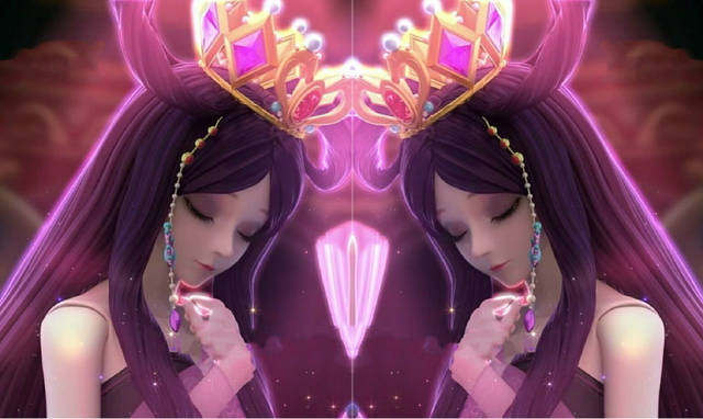 叶罗丽:罗丽公主拥有五个皇冠,第一个最漂亮,第五个最图片