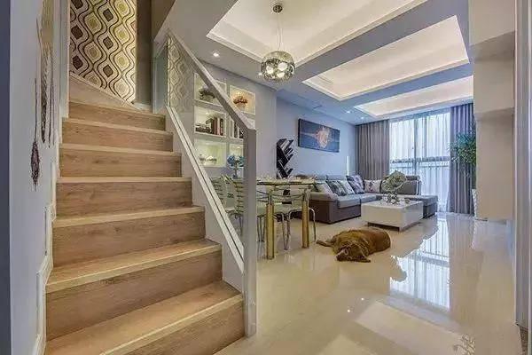 14,红木实木楼梯,对于中式风格的装修非常的合适