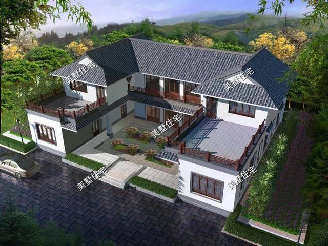 平面图:农村房子标志性的大唐无,没有客厅都不能没有堂屋呀!