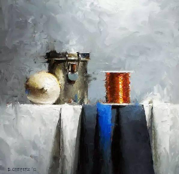 二零零三年留学意大利 目前与他的妻子,亚斯曼在西雅图 大卫的水粉画