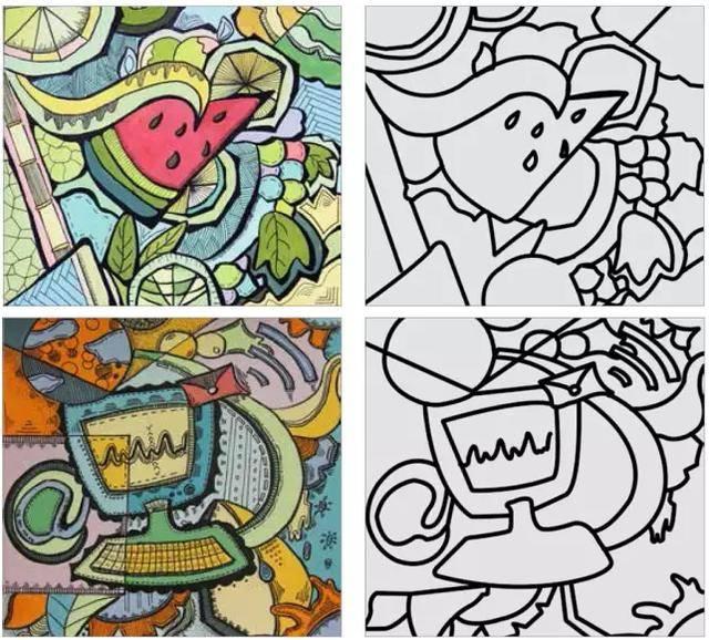 如何画好色彩装饰画,考鲁美东华必看!图片