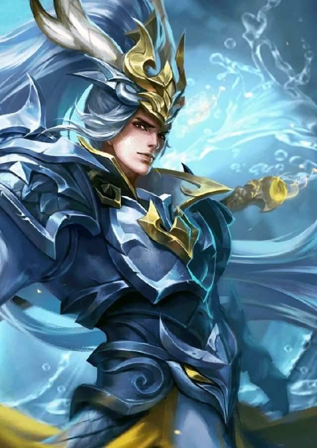 3,諸葛亮的武陵仙君,諸葛亮一直是比較熱門的法師,而他的皮膚里最圖片