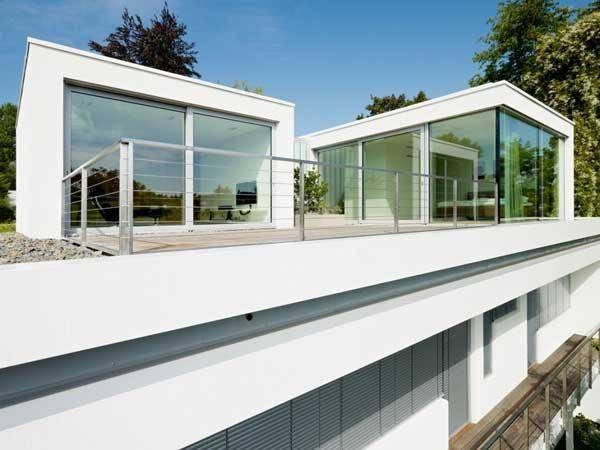 """德国,一座""""平房改造""""的梦幻别墅,时尚外观,超艺术感图片"""