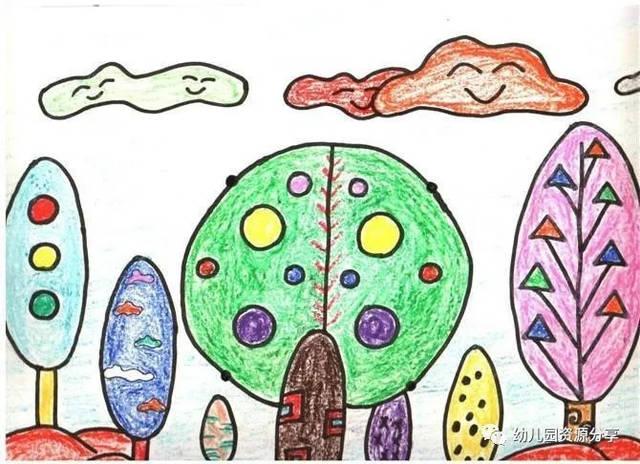 幼儿园绘画一等奖获奖作品欣赏