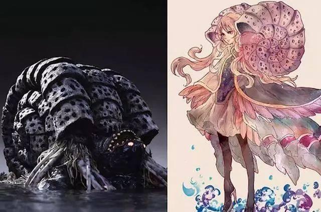 当奥特曼中的怪兽化身美少女,迪迦中的最终boss变得这么可爱?