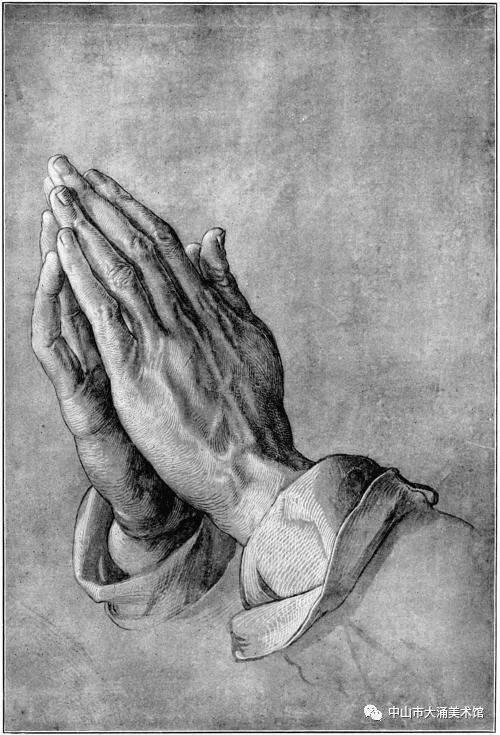 世界名画每日一赏《祈祷之手》