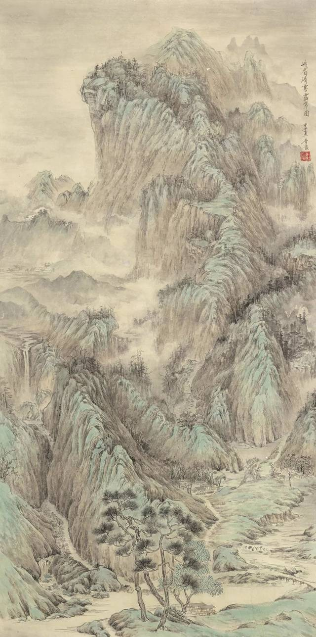 康雪梅 甘堡藏寨 68cm×68cm