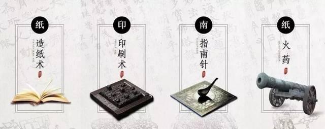 中国古代的四大发明造福全世界.