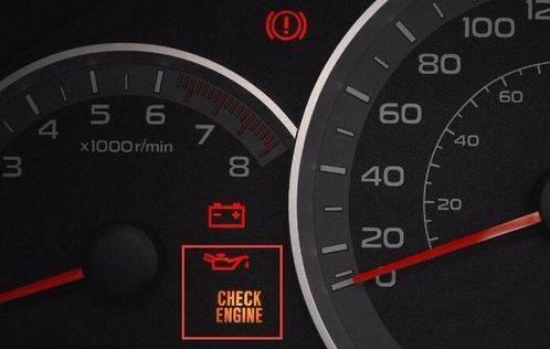 """"""" 我们开车时候突然出现汽车仪表盘里面的机油压力警告灯亮了,这时候"""