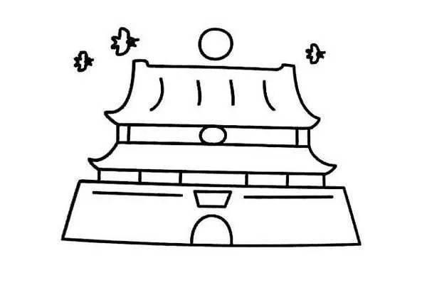 【干货满满】国庆节手抄报&模板 简笔画 古诗