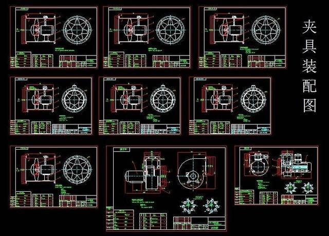自学cad图纸资料库,基础入门结构图纸+机械平面图纸下载