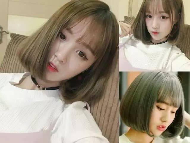 最色的女人_黄皮肤的女生,选这5种亚麻色的头发,最显白!