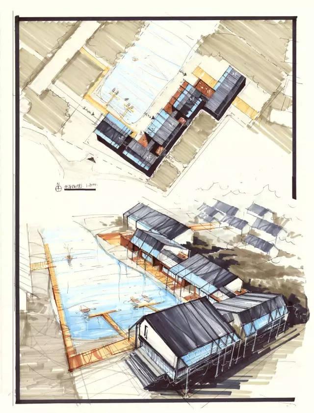 公开课   中国建筑设计院入职快题考试题型分析——民宿建筑改造图片